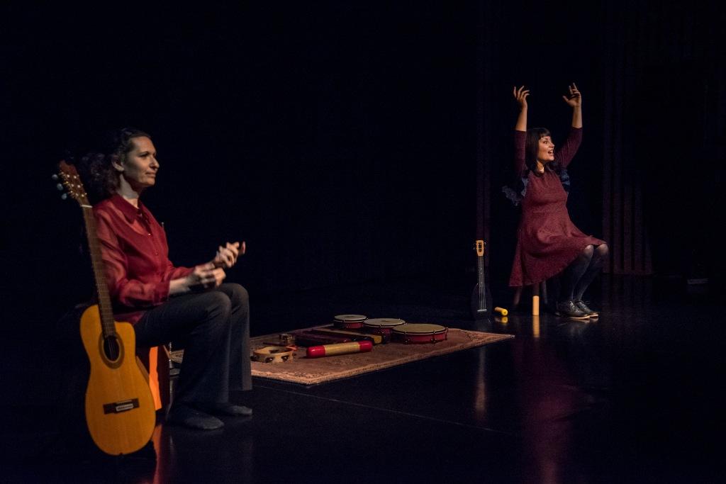 spectacle conte et musique enfant Topolina